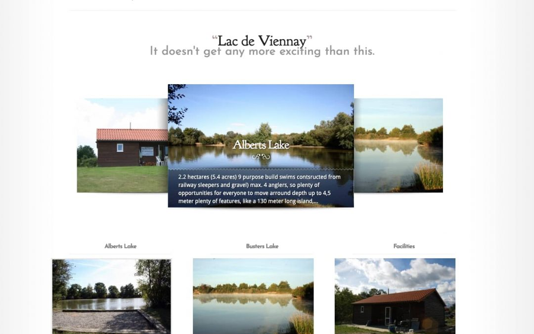 Lac de Viennay website